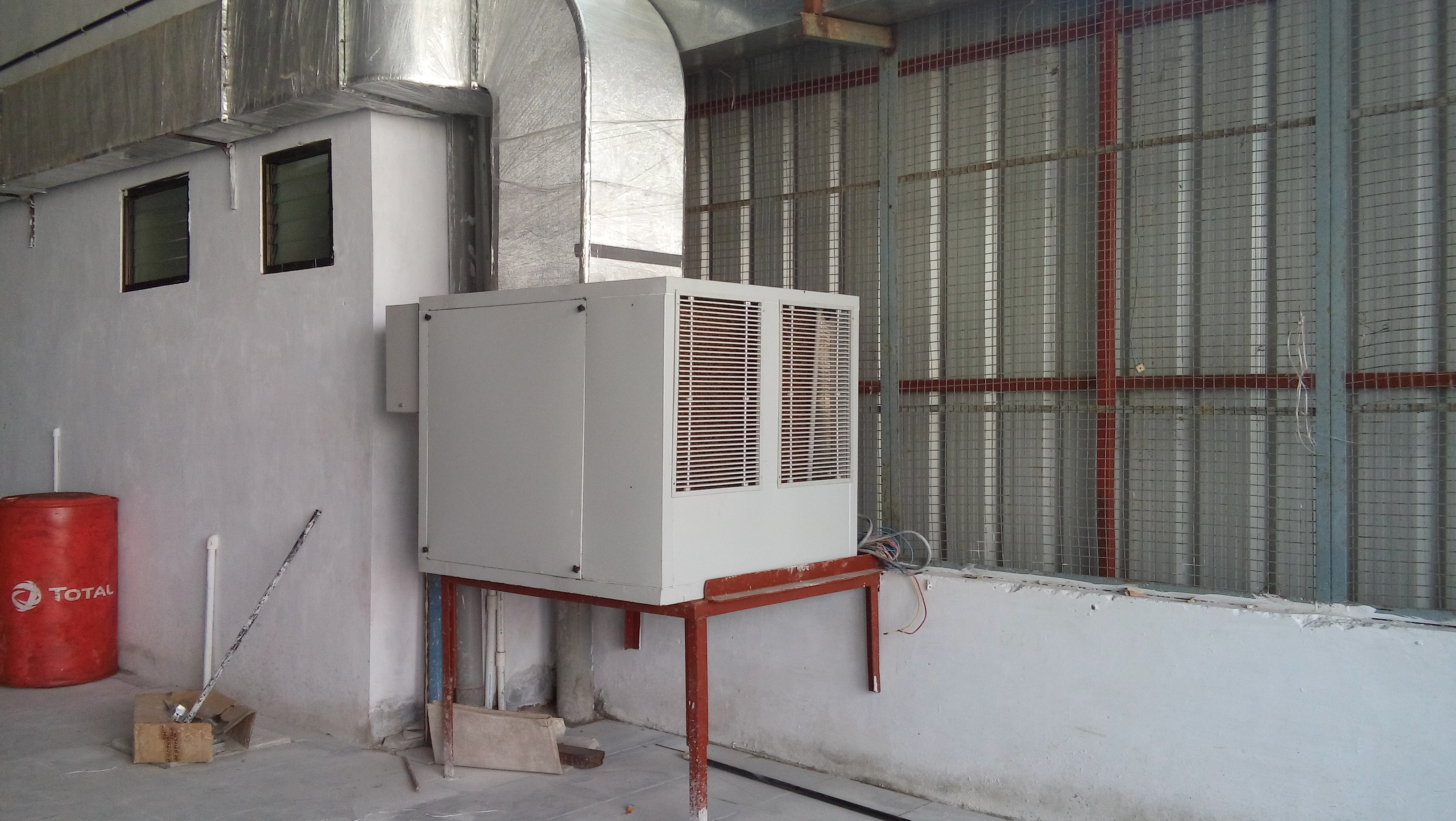 Industrial Air Cooling System Packaged Central Air