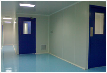 Modular Clean Room Wall Panels